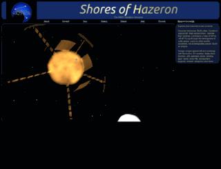 hazeron.com screenshot