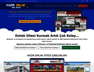 haziremlakwebsitesi.com screenshot