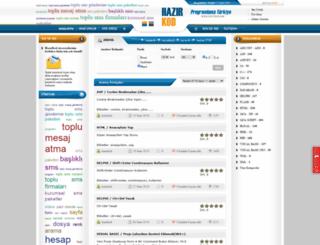 hazirkod.com screenshot