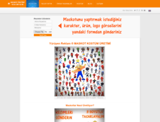 hazirmaskot.com screenshot