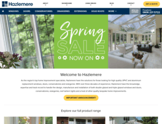hazlemere.co.uk screenshot
