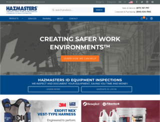 hazmasters.com screenshot