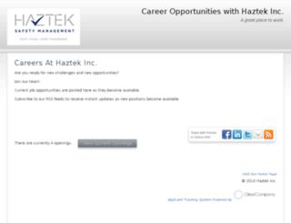 haztekinc.hrmdirect.com screenshot