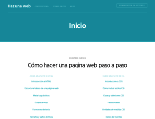 hazunaweb.com screenshot