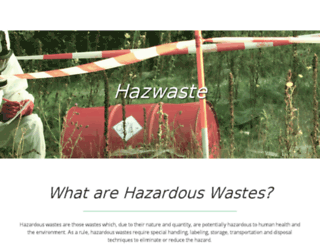 hazwastebc.com screenshot