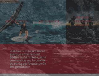 hb-surfkite.fr screenshot