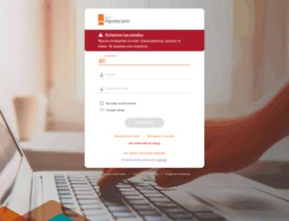 hb.hipotecario.com.ar screenshot