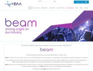 hbaa.org.uk screenshot