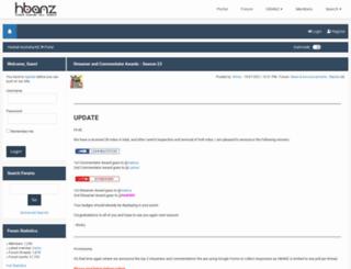 hbanz.org screenshot