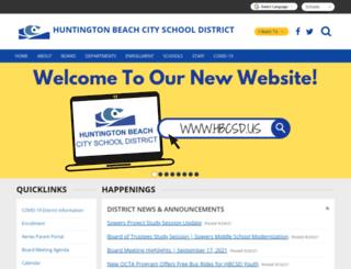 hbcsd.k12.ca.us screenshot