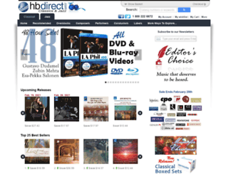 hbdirect.com screenshot
