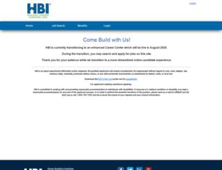 hbi.jobboardhq.com screenshot