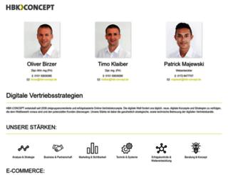hbk-concept.de screenshot