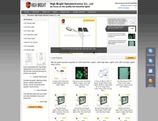 hbledlight.com screenshot