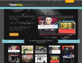 hblnxweb06.hostbaby.com screenshot