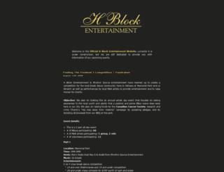 hblock.ca screenshot