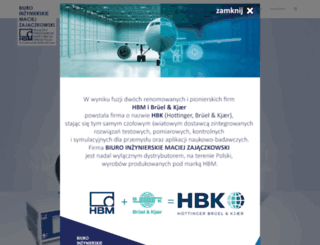 hbm.com.pl screenshot
