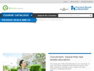 hbor.oncourselearning.com screenshot