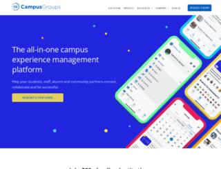 hbs.campusgroups.com screenshot
