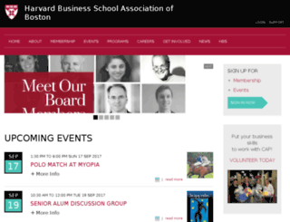 hbsab.org screenshot