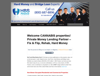 hbsfunding.com screenshot