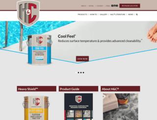 hc-concrete.com screenshot