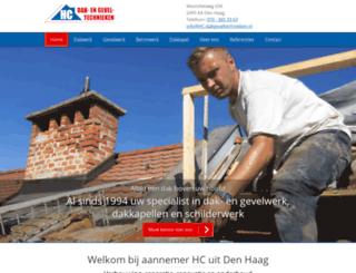 hc-dakgeveltechnieken.nl screenshot