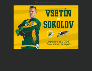 hc-vsetin.cz screenshot