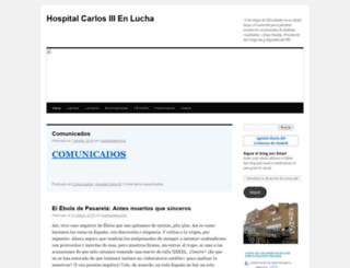 hcarlosiiienlucha.wordpress.com screenshot