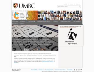 hcc.umbc.edu screenshot