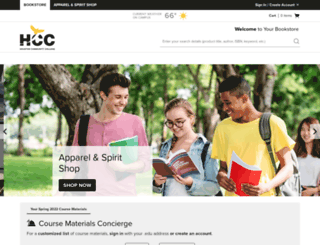 hccs.bncollege.com screenshot
