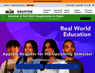 hccs.edu screenshot