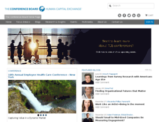 hcexchange.conference-board.org screenshot