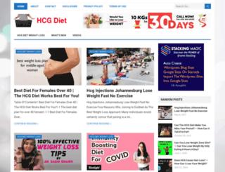 hcg-diet.us screenshot