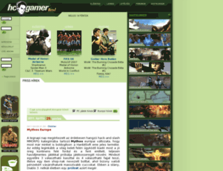 hcgamer.hu screenshot