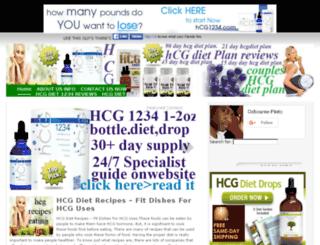 hcgdietplansweightlossprograms.com screenshot