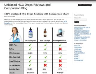 hcgdropsreviews.org screenshot