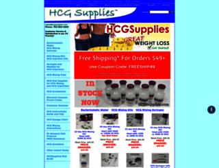 hcgsupplies.com screenshot