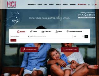 hci-immo.fr screenshot