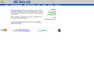 hcidata.com screenshot