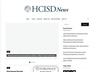 hcisdnews.org screenshot