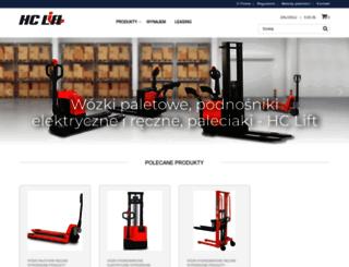 hclift.pl screenshot