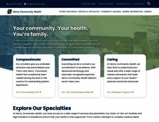 hcmhcares.org screenshot