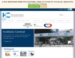 hcnet.usp.br screenshot