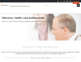 hcp-prod.optumrx.com screenshot
