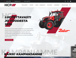 hcpetersen.fi screenshot