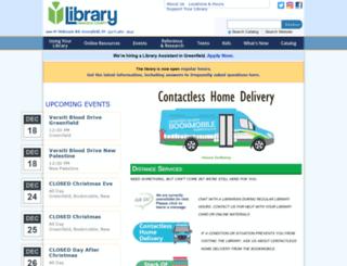 hcplibrary.org screenshot