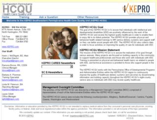 hcqu.apshealthcare.com screenshot