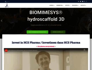 hcs-pharma.com screenshot