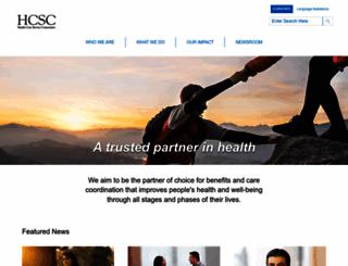 hcsc.net screenshot